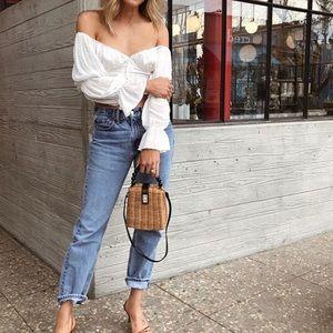 Tops - Detail wrap blouse